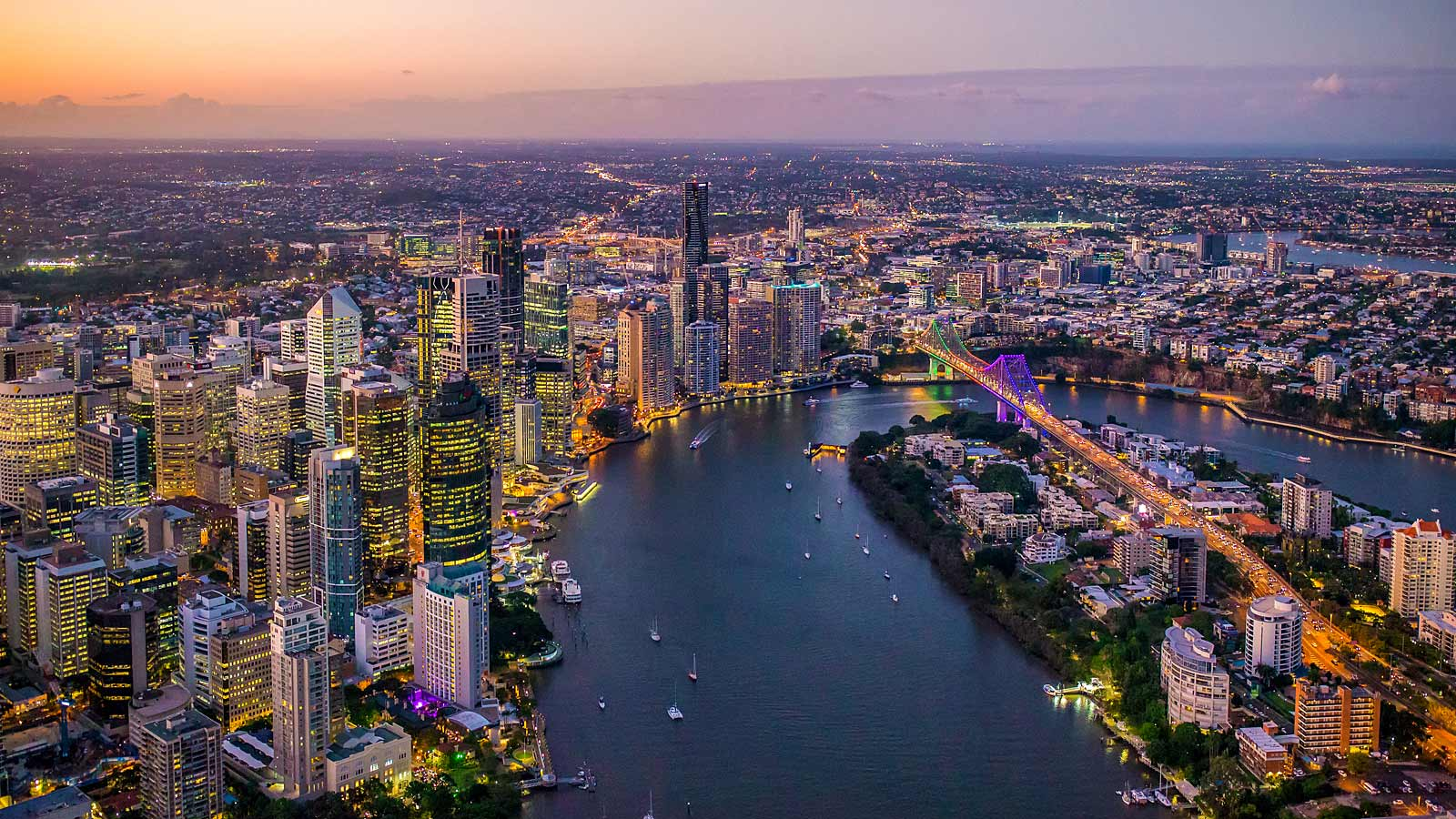Brisbane Leads The Way As Workers Moving Back To Cbd Offices